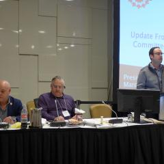 Update from the Health and Safety Committee