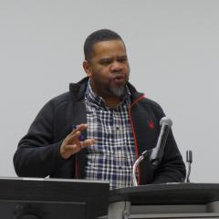 Eddy Aristil, Chair of the AD-HOC UMA / Conflict Resolution Committee