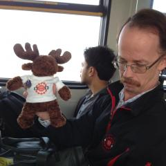 Travelling with the moose