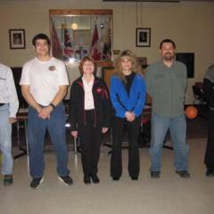 Left to right / Gauche à droight : Khalid Ahmad, Casey Decesco, Janet Albinet, Lainie Ferjan, Michael St. Cyr and Joel Klassen