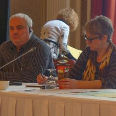 Cosimo Crupi and Theresa Greenough, Workforce Adjustment Committee