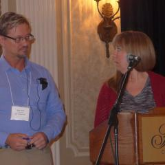 Imre Bene and Donna Blair, Convention Host Committee