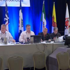 Finance Resolutions Committee - Marc Brière, Liam Merrigan, Doug Gaetz, Gary Esslinger