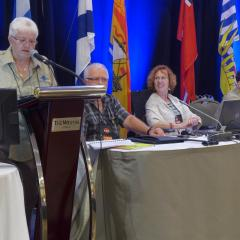 Nominations Committee - Betty Bannon, Jean Bergeron, Marcel Bertrand