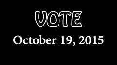Embedded thumbnail for Vote October 19th - UTE's Radio Ad